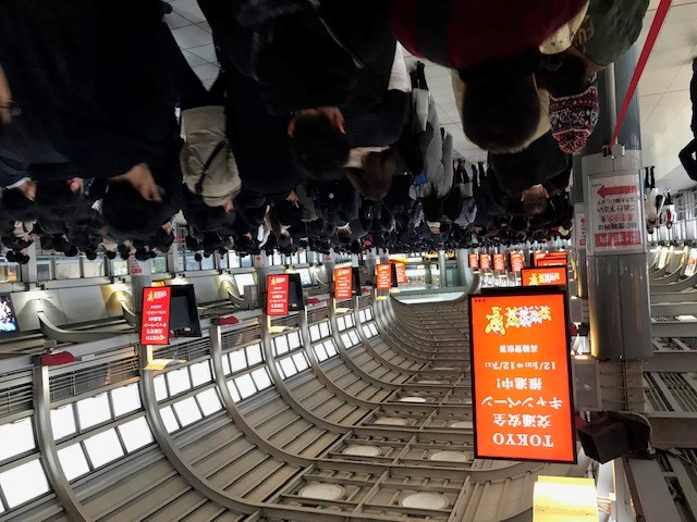 Mike Gibbons' early winter trip to Japan for IWS 4.0 Engineering Support Services