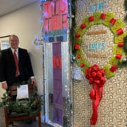 Door - Cube Decorating Contest - First Place: Frank Jolly